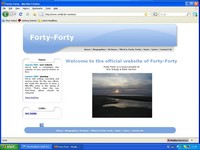 Forty-Forty website