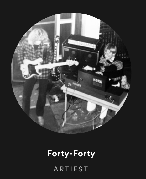 Forty-Forty on Spotify